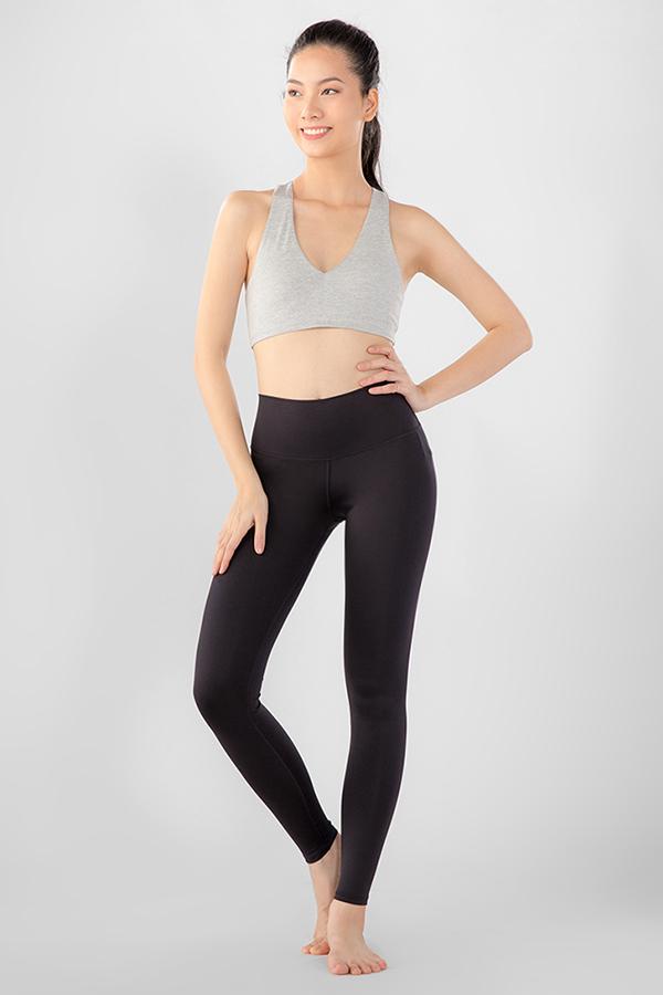 Áo Bra Yoga tập GYM xám kẽm H8B70