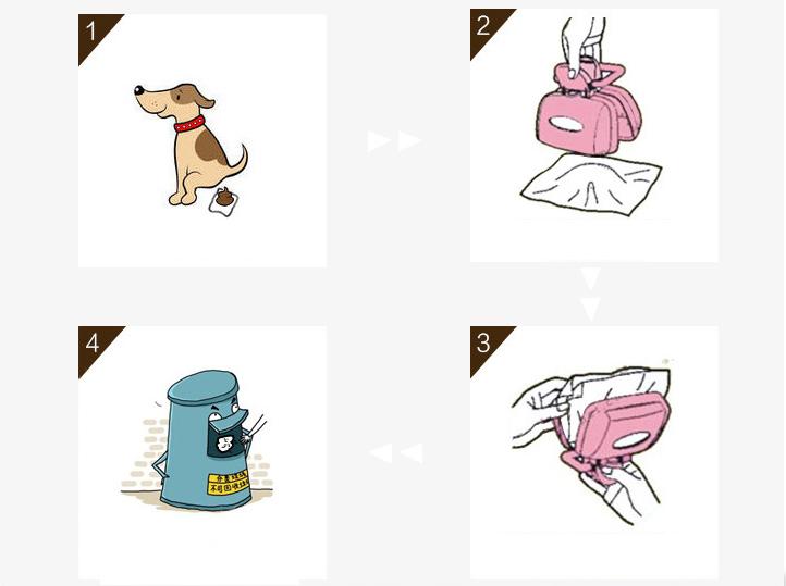dụng cụ dọn vệ sinh cho chó