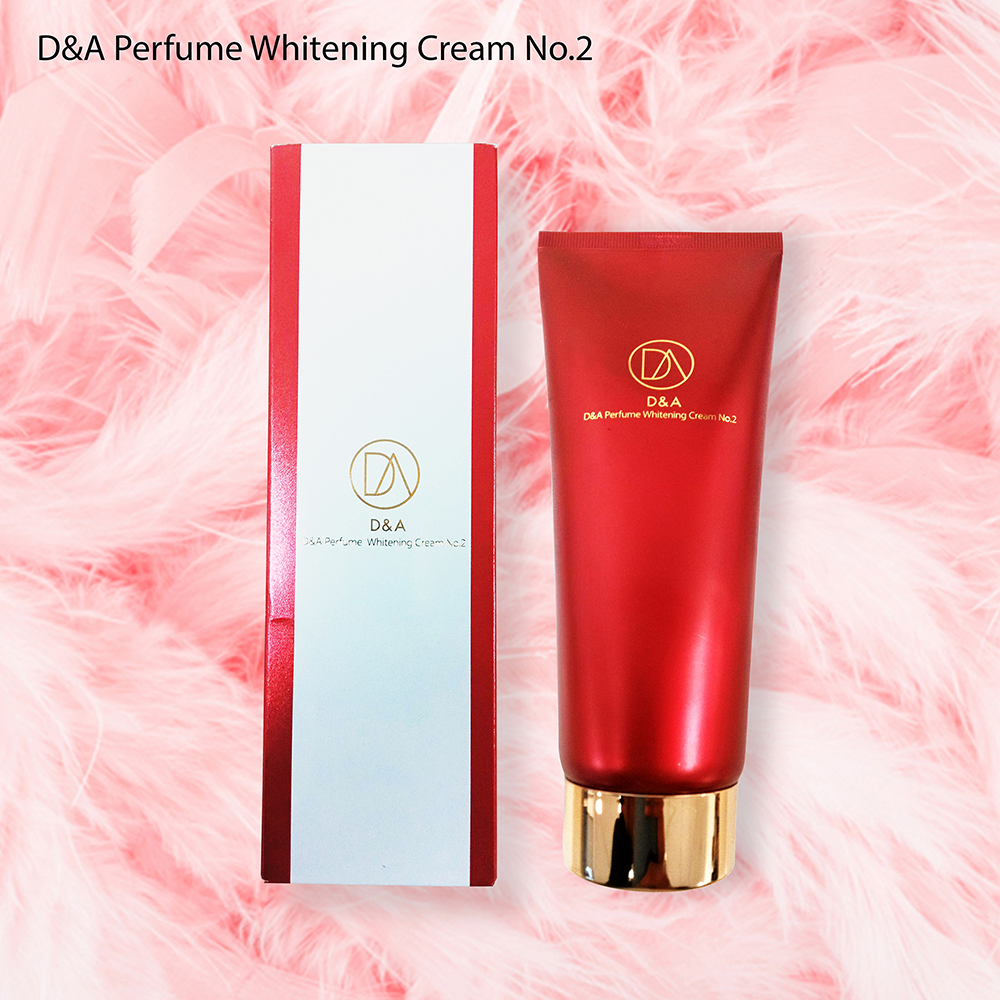 D&A Perfume whitening cream No1. + No2