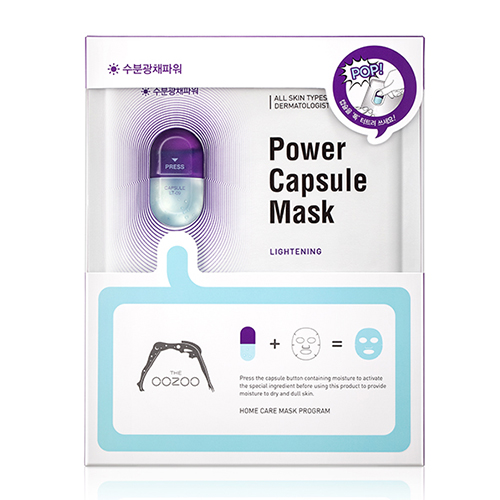 MẶT NẠ  OOZOO POWER CAPSULE MASK LIGHTENING