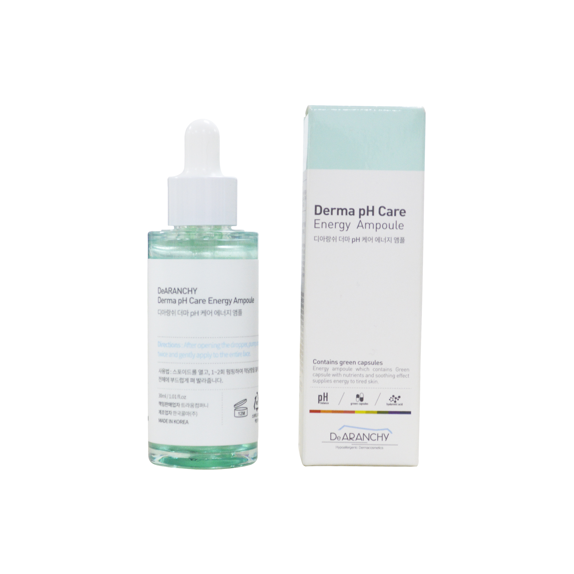Tinh chất Dearanchy-Purifying Derma PH  Care Energy Ampoule