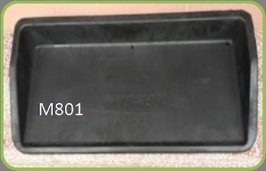 Rubber Range Tray