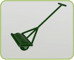 Large Grass Pressing with Small Handle Pushing