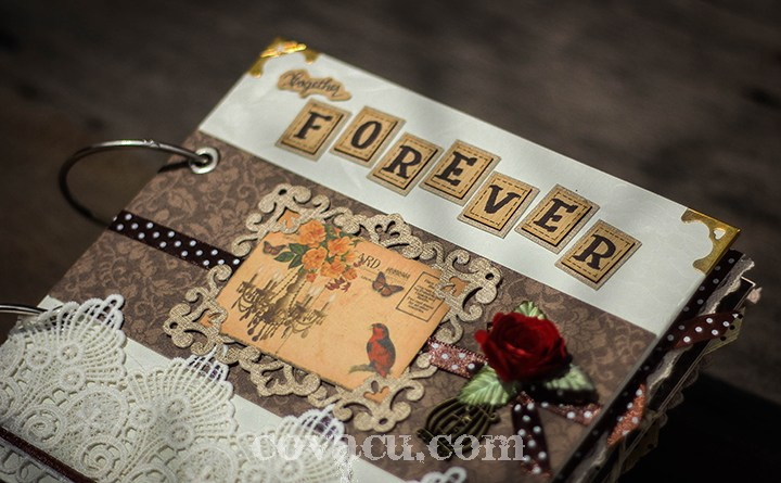 Scrapbook Vintage Together Forever