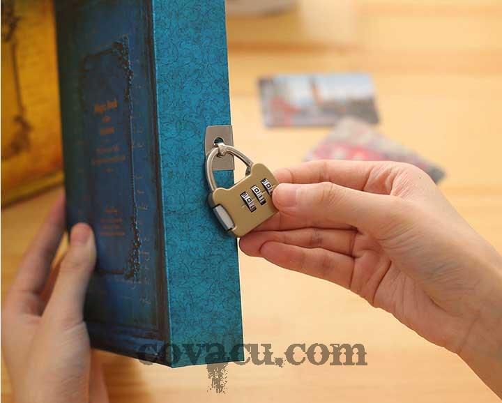 sổ magic book có khóa