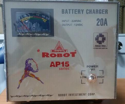 Sạc Tăng Giảm Robot 20A 12VDC