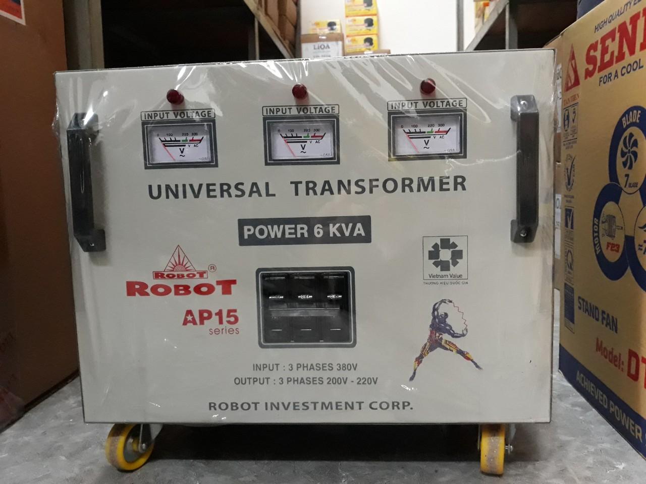 Biến Thế Đổi Điện 3 Pha Robot 6KVA