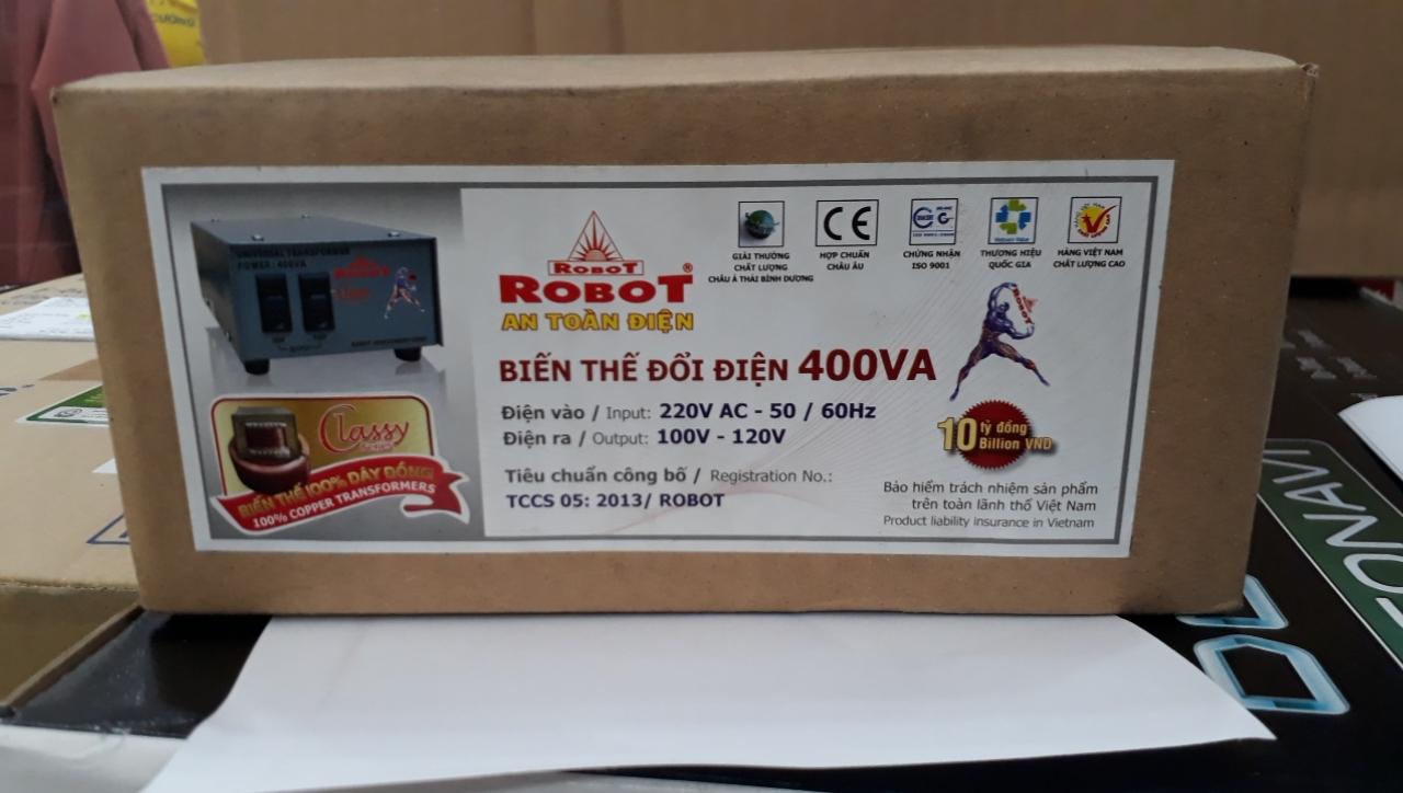 Biến Thế tự ngẫu 400VA ROBOT (Dây đồng)