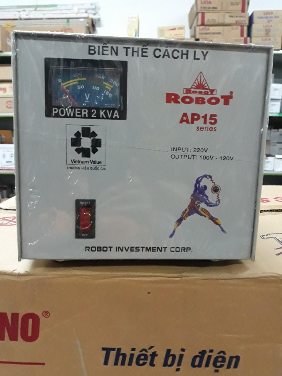 Biến Thế Cách Ly Robot 2KVA