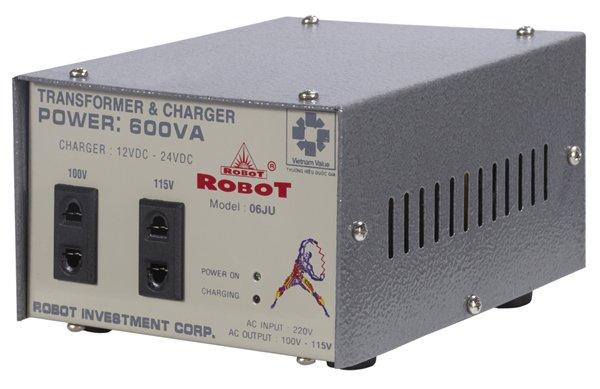 Biến Thế Đổi Điện - Sạc Robot 600VA (Dây đồng)