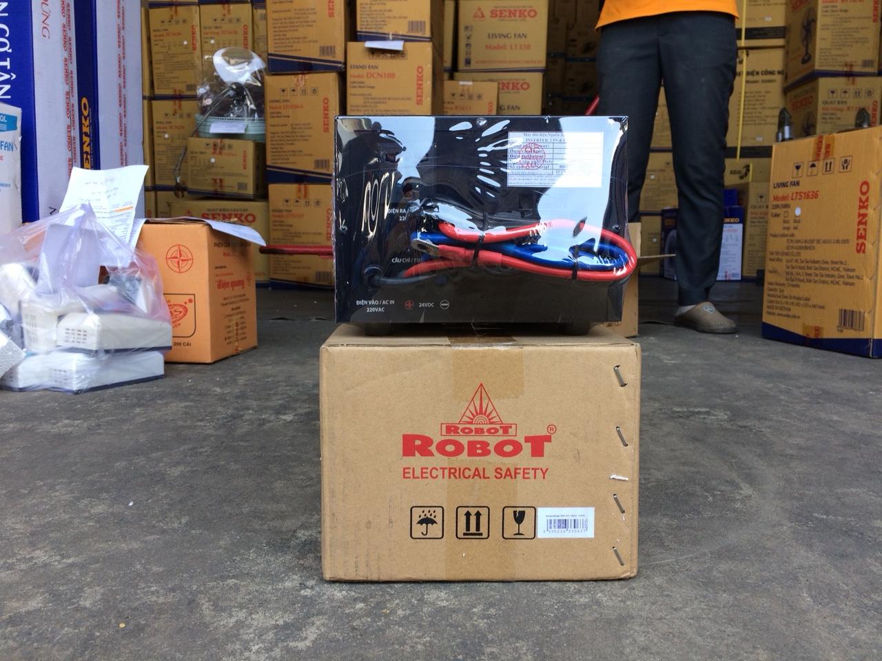 Máy Đổi Điện DC-AC Robot 1000VA-12V sóng sin