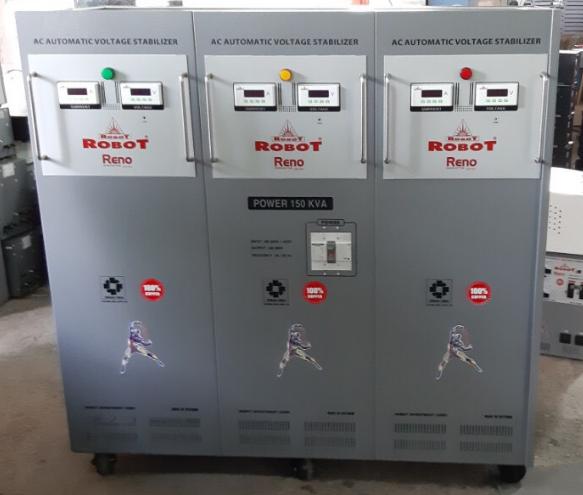 Ổn Áp Robot 3 Pha 150KVA (300-420v)