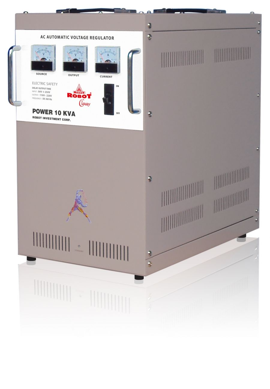 Ổn Áp Robot Classy 10KVA (130-270V)