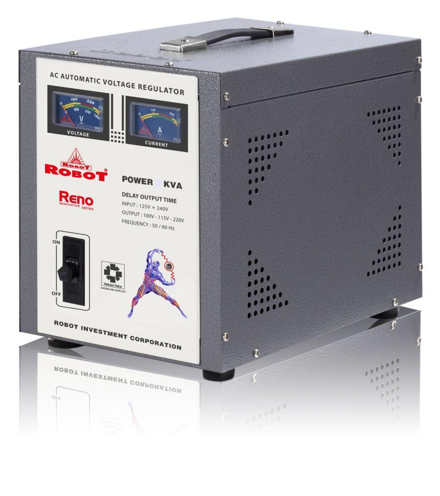 Ổn Áp Robot Reno 3KVA (60-240V) - Reno 818