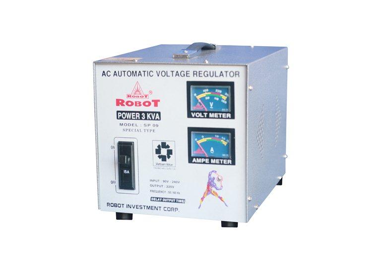 Ổn Áp Robot SP09 3KVA (90-250V)