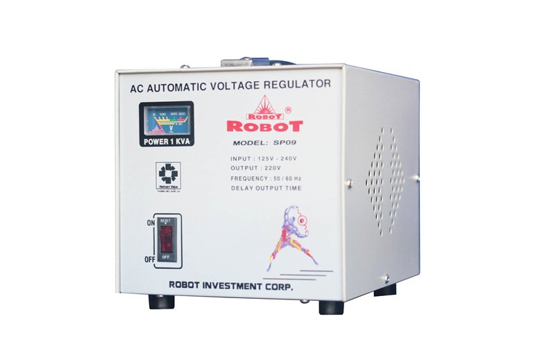 Ổn Áp Robot SP09 1KVA RF (90-250V)