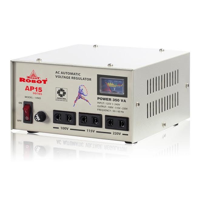 Ổn Áp Role Robot 350VA (125-240V)