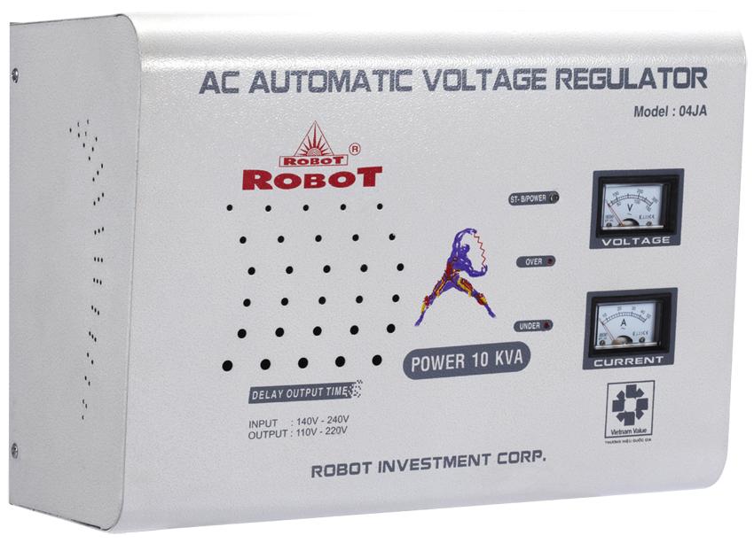 Ổn Áp Treo Tường Robot 10KVA (150-250V)
