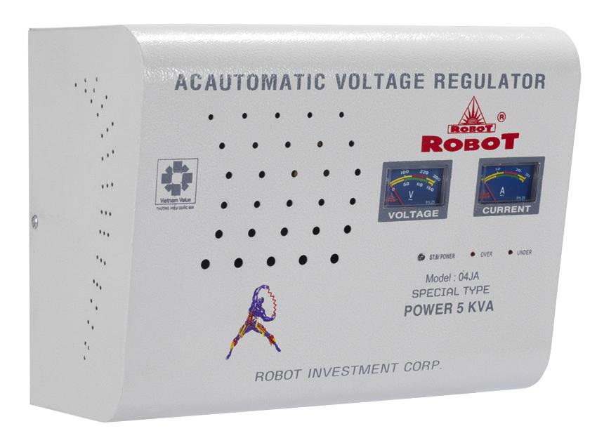 Ổn Áp Treo Tường Robot 5KVA (140-250V)