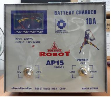 Sạc Tăng Giảm Robot 10A (12-24VDC)