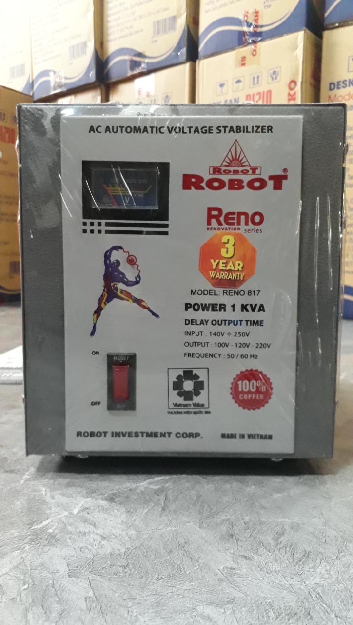 Ổn Áp Robot Reno 1KVA (40-240V) - Reno