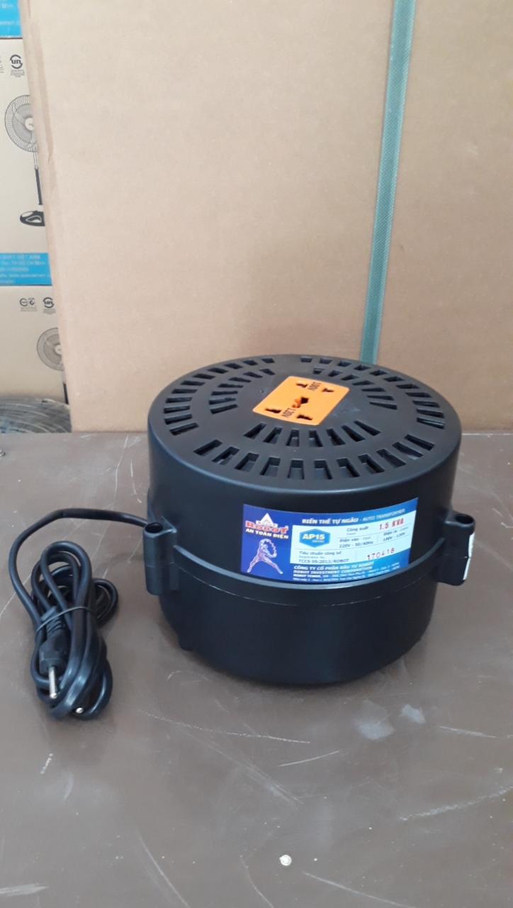 Biến Thế Đổi Điện Dạng Tròn Robot 1500VA