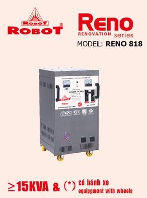 Ổn Áp Robot Reno 15KVA (40-240V) - Reno 818