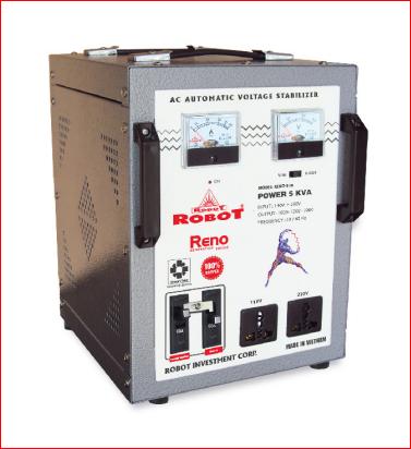 Ổn Áp Robot Reno 5KVA (60-240V) - Reno 818