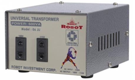 Biến Thế tự ngẫu ROBOT 600VA (dây đồng)