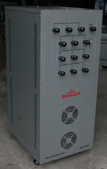 Ổn Áp Robot 3 Pha 30KVA (260-430v)