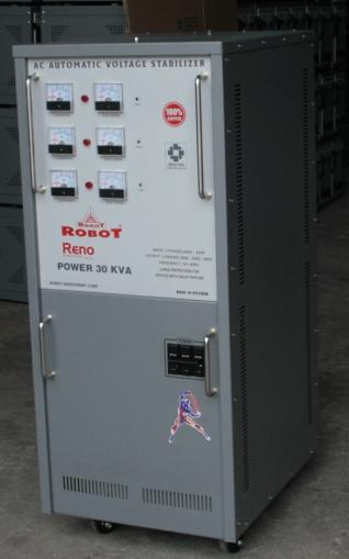 Ổn Áp Robot Reno 30KVA (150-250V) - Reno 818