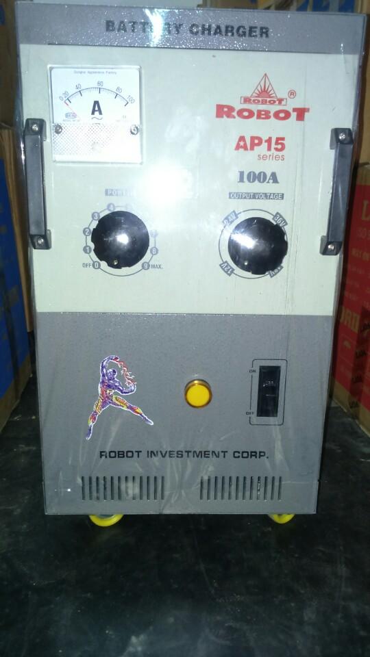 Sạc Tăng Giảm Robot 100A (Dây đồng)