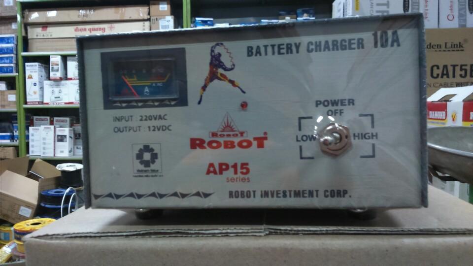 Sạc Tăng Giảm Robot 10A (12VDC)