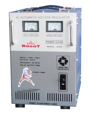 Ổn Áp Robot SP09 10KVA (150-250V)
