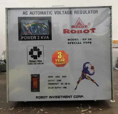 Ổn Áp Robot SP09 2KVA (140-250V)