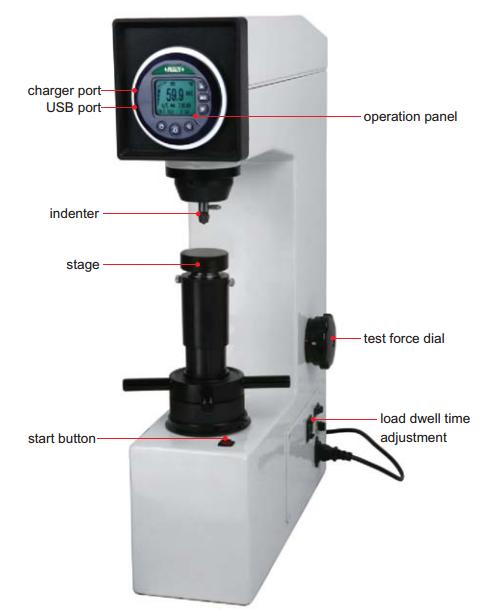 Máy đo độ cứng ROCKWELL ISH-MRD200