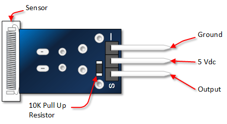 A0104 - Module cảm biến gõ/rung