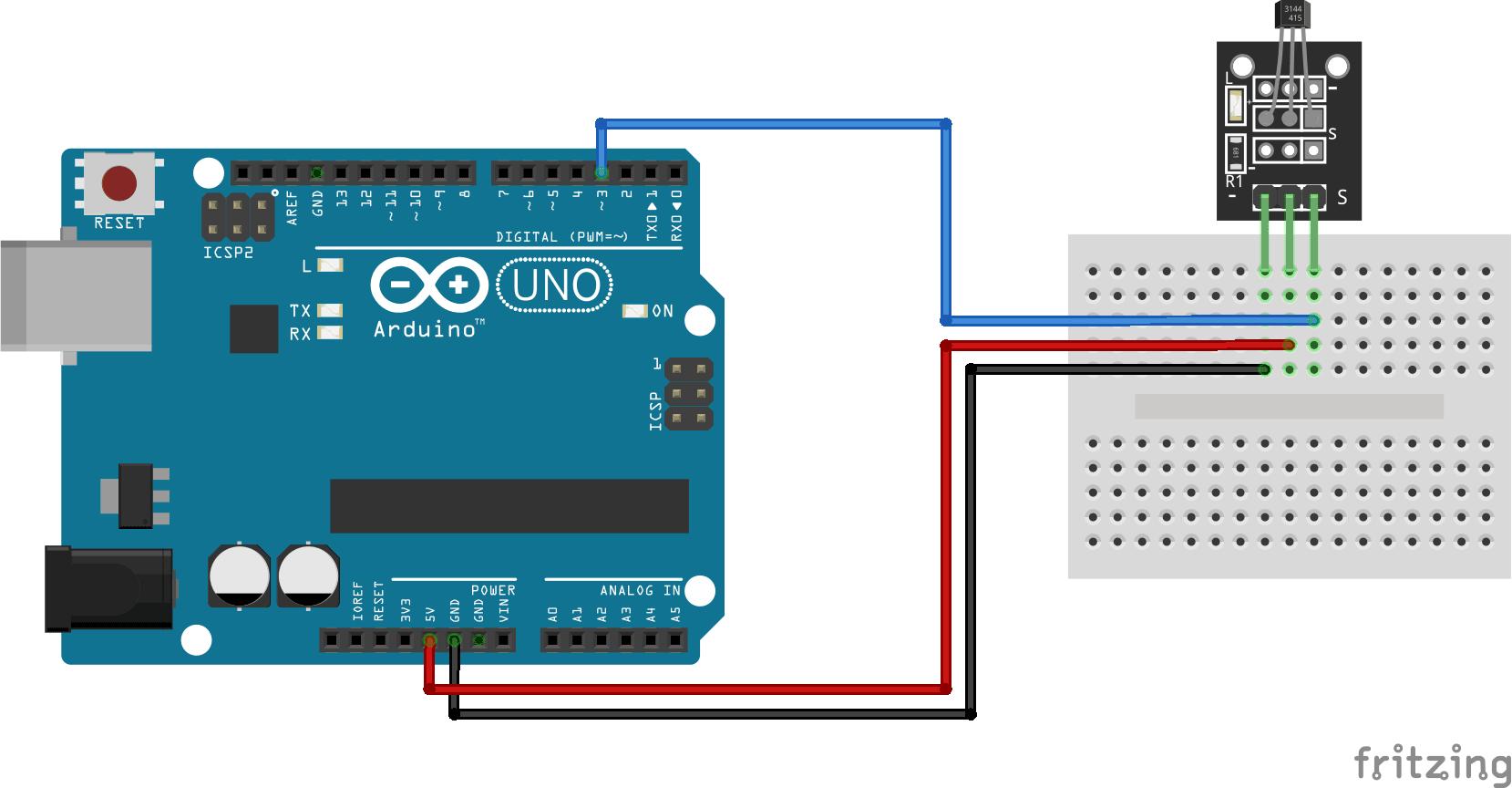 A0120 - Module cảm biến từ trường Hall KY-003