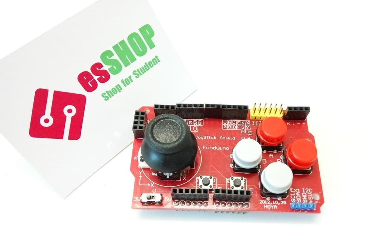 B0101 - Arduino joystick shield