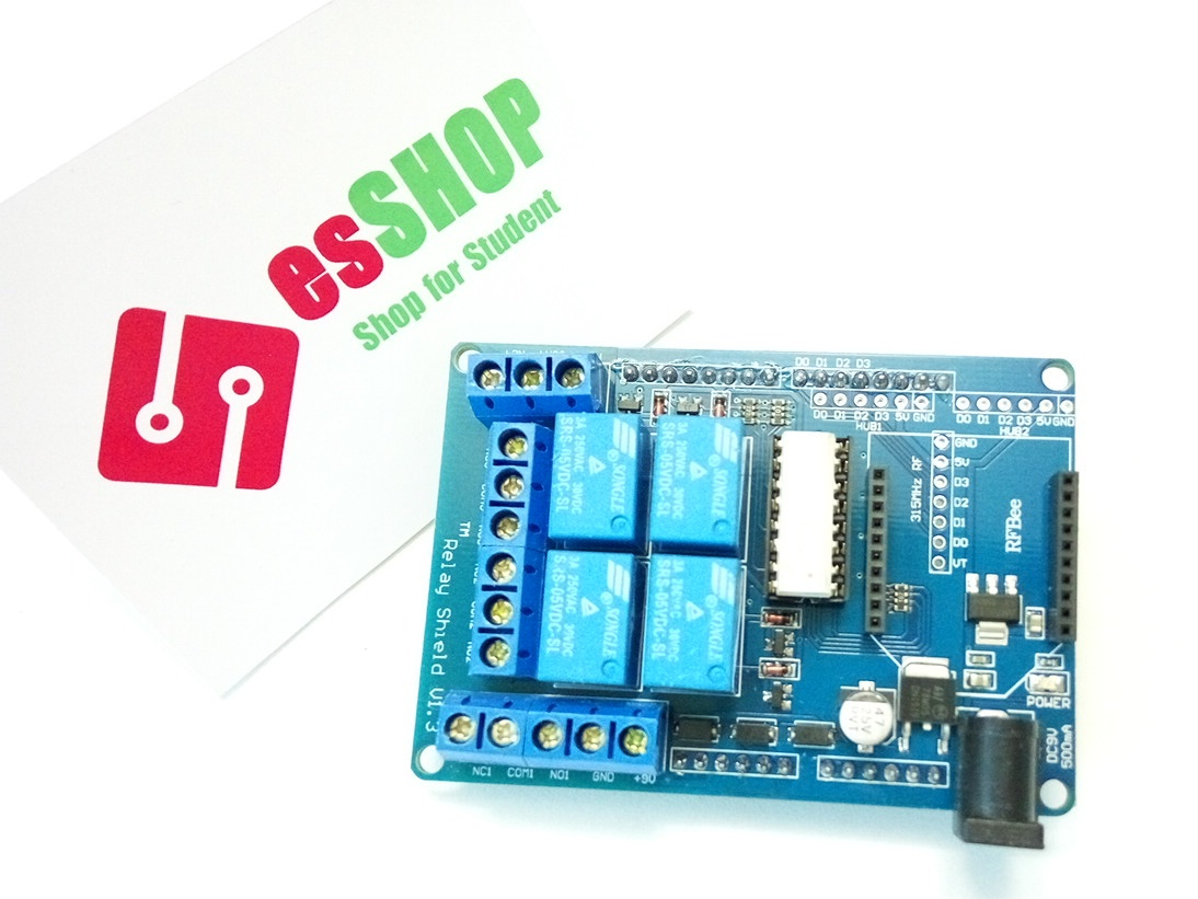 Arduino relay shield v1.3