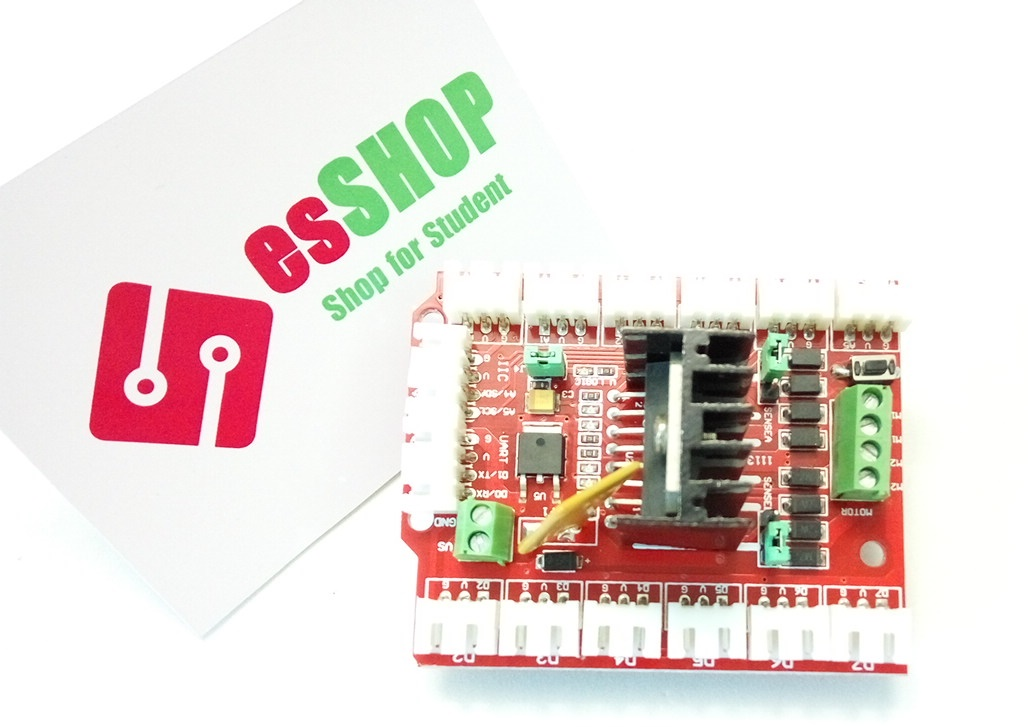 B0131 - Arduino L298N Motor Shield