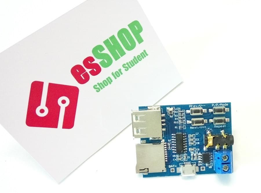 B0149 - Module phát nhạc MP3 + khuếch đại 3W