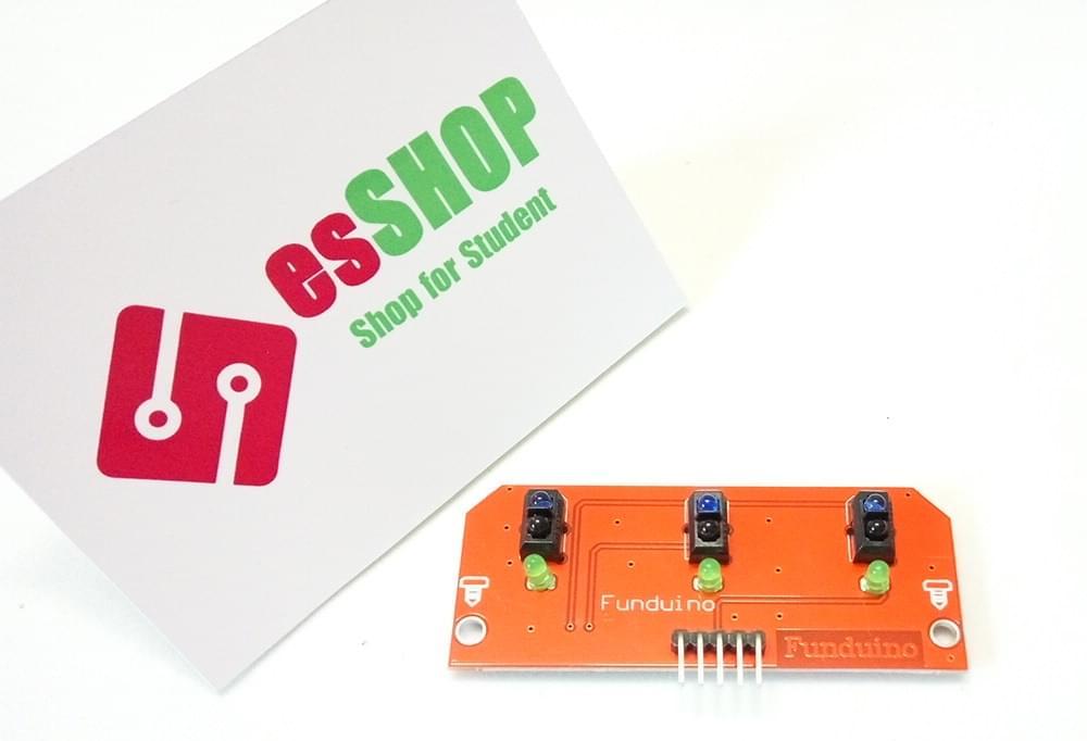B0150 - Module dò line 3 đèn Funduino