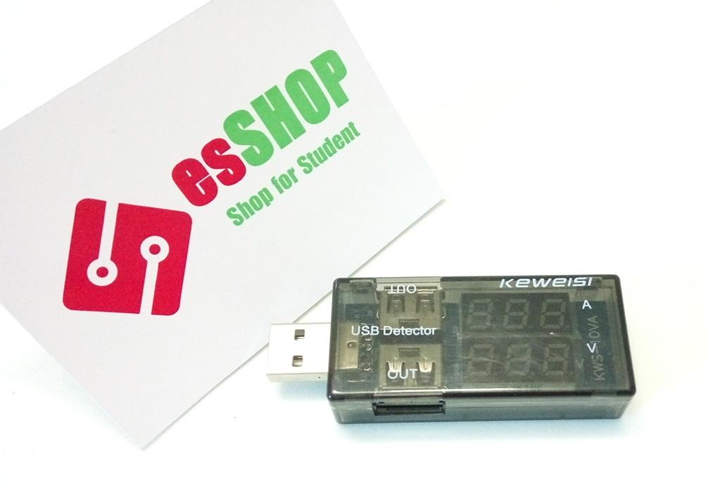B0156 - Đo Dòng Áp Cổng USB Keweisi V2