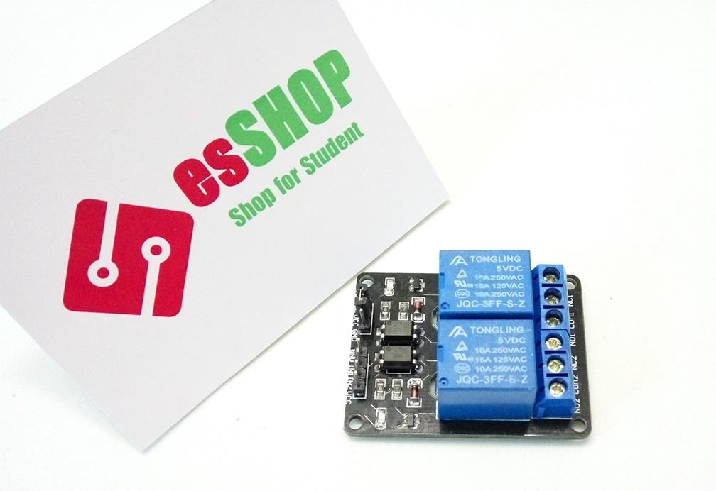 B0158 - Module 2 Relay Với Opto Cách Ly 5V
