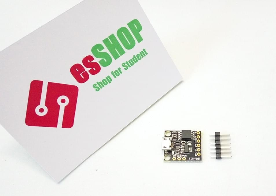B0220 - Mạch lập trình siêu nhỏ ATTINY 85 micro usb