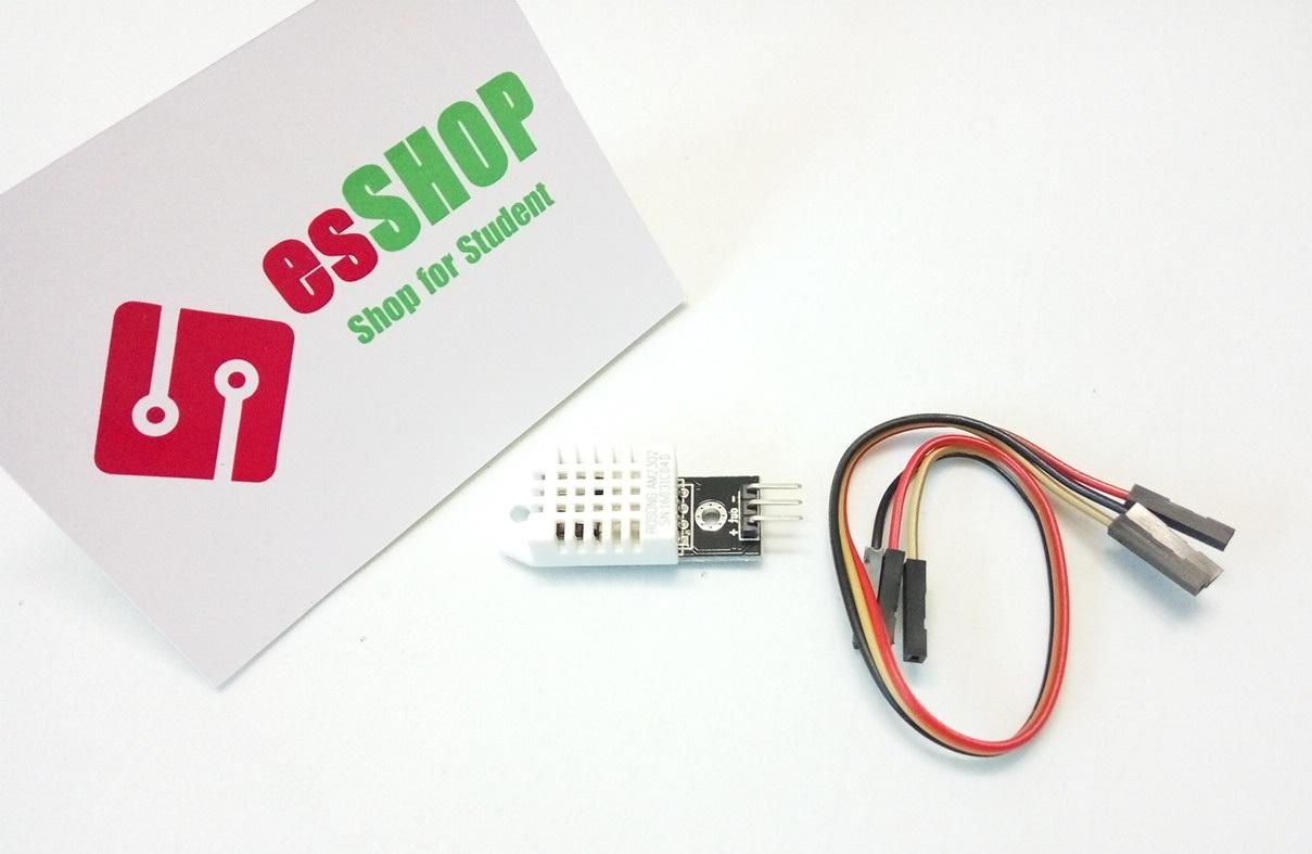 B0233 - Module cảm biến độ ẩm + nhiệt độ DHT22