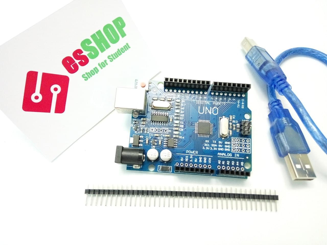 B0235 - Board Arduino UNO R3 + Kèm Cáp