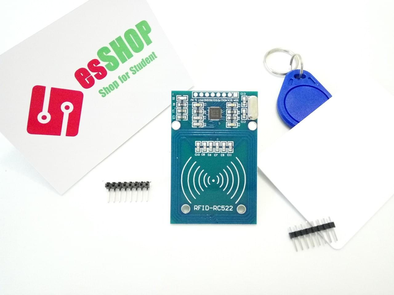 B0237 - Board RFID NFC MFRC-522 + Thẻ từ + Tag từ