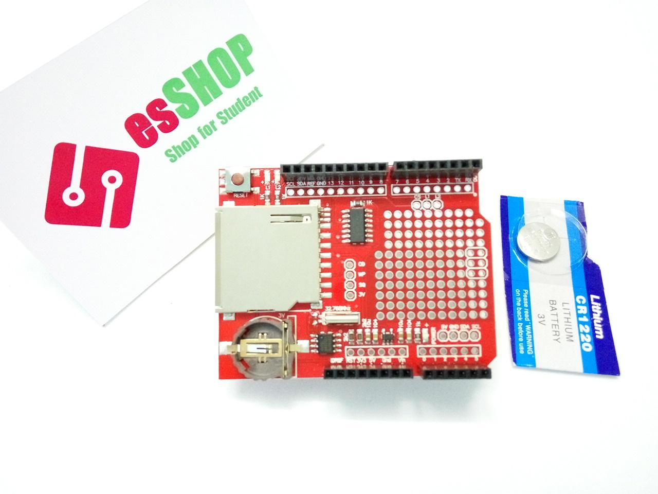 B0251 - Shield Arduino ghi dữ liệu logger XD-204